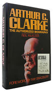 Neil Mcaleer Arthur C. Clarke Signed - The Authorized Biography 1st Edition 1st