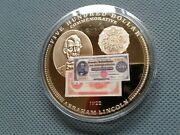 U,s,a Collectibles 500 Dollar 1922 Commemorative Lincoln Coin Proof