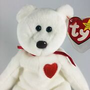 Valentino Beanie Baby 93/94-brown Nose- Error Space Before , Pe Pellets