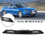 Rear License Plate Light Trunk Tailgate Handle Switch For Audi Rs4 A4 A5 A6l A8