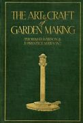Mawson The Art And Craft Of Garden Making By Thomas H. Mawson 9789189069985