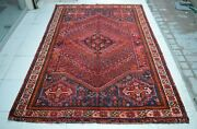 5and0395 X 7and03910 Ft Collectorand039s Piece Antique Caucasian Medallion Design Wool Area Rug