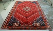 6and0396 X 9and03911 Collectorand039s Piece Rare Semi Antique Caucasian Medallion Wool Area Rug