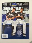 Miami Marlins 2012 Sports Illustrated No Label Ozzie Guillen Jose Reyes Lot Of 5
