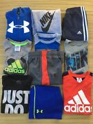 Nike Adidas Under Armour Boys Clothes Lot Of 10 Size 6