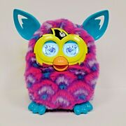 2012 Furby Boom Pink Purple Teal Peacock Next Generation Interactive Toy Tested