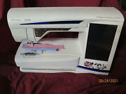 Viking Diamond Royale Sewing Embroidery Machine Many Extras Luggage Gh2153
