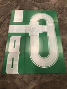 Lego Base Plates Lot Of 12 Green Airport Road 32 X 32 T Intersection Straight