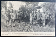 Mint France Real Picture Postcard Indian General Quarters Nord Front Wwi