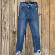 Abercrombie And Fitch Simone High Rise Skinny Ankle Jeans Womens Size 24 / 00s