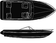 Seachoice Universal Boat Cover Color 19and039 6 X 94 Option Runabout