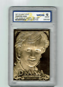 1997 Princess Diana 23 Karat Gold Limited Edition The Queen Of Hearts Wcg 10