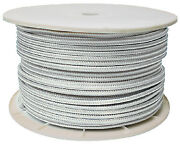 Seachoice Double Braid Rope Spool Color White Size 5/8 X 600and039