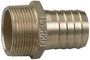 Perko 2-1/2 Pipe To Hose Adapter Straight Bronze Made In The Usa