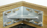 Tie Down Engineering Inside Corner Size 8 1/4 L X 5 H Option Square Holes