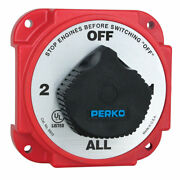 Perko Heavy Duty Battery Selector Switch With Alternator Field Disconnect