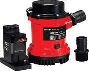 Heavy Duty Combo Bilge Pump With Automatic Electromagnetic Switch Johnson Pump