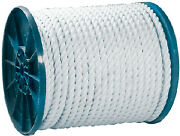 Seachoice Twisted Nylon Rope Color White Size 1 X 600and039