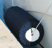 Taylor Made Premium Fender Cover Boat Fender Covers Color Blue Size 10 X 26