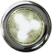 Stainless Led Puck Lights T-h Marine Color Warm White Size 3