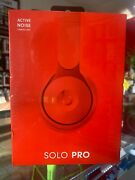Beats By Dr.dre Solo Pro Wireless Noise Cancelling On-ear Headphones In Red