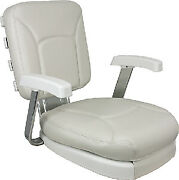 Springfield Ladder Back Chair Wh Cushions