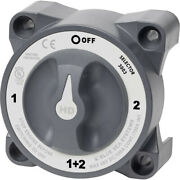 Blue Sea Systems Hd-series Battery Switch Selector With Alternator Field Disconn