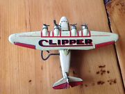 Modern Toys Mt Japan Baby Pan-am Clipper 1930and039s Lithoclockwork Ex Original