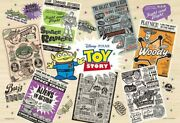 500 Piece Jigsaw Puzzle Wood Puzzle Poster's -toy Story- 26x38cm