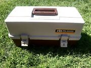 Plano Model 1530 Fishing Tackle Box W/trays - Cleaned Up And Fully Functional