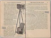Instructions In Photography Antique Sears Camera Guide Book By F.m. Needham