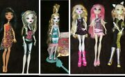 Lot 6 Monster High 1st Wave Lagoona Blue And Dawn Of The Dance Dolls Cleo Rochelle