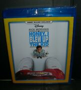 Honey I Blew Up The Kid Blu Ray New Disney Movie Club Exclusive Free Shipping