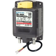 Blue Sea Systems 7713 Ml-rbs Remote Battery Switch W/manual Control Release - 12