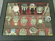 Seapro Citizens Android Watch Collection Lot 33 Watches And Dis. Cases