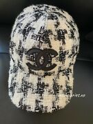 Authentic New W Receipt White Tweed Baseball Cap Hat Sold Out Logo Bucket