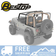 Bestop Factory Style Bow Kit For 88-95 Jeep Wrangler Yj 55004-01