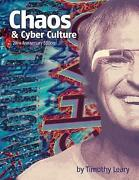 Chaos And Cyber Culture By Leary, Timothy, New Book, Free And Fast Delivery, Pape