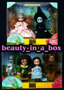 Wicked Witch Kelly Doll Glinda Wizard Of Oz Barbie Collector Dorothy Lion Lot 2