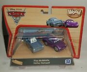 Disney Pixar Cars 2 Wood Collection 2011 Toy R Us Finn Mcmissile Holley Rare