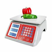 Electronic Price Computing Scale 66lb/30kg Waterproof, Digital Commercial Food M