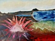 King Protea Lookout By James Dick | Impressionist | Oil Painting | Floral