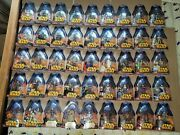 Lot Of 74 Star Wars Rots Revenge Of The Sith Figures, Deluxe, Exclusives, Cases
