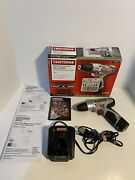 Craftsman Nextec Compact Lithium-ion Drill/driver With Battery And Charger