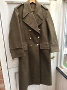British Army Greatcoat 1953 Dissmounted Style In Brilliant Condition