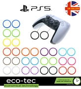 2x Plastic Thumb Stick Trim Accent Rings For Sony Ps5 Controller