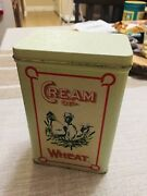 Cream Of Wheat Vintage Tin Can