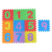 10pcs Colorful Kids Puzzle Exercise Play Mat Interlocking Tiles For Baby