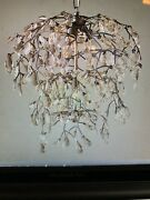 New In Boxpottery Barn Bella Crystal Round Chandelier Pendant Sold Out