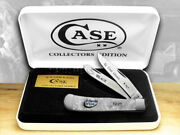 Case Xx Trapper Knife Kentucky Friends Of Coal White Pearl 1/500 Ky